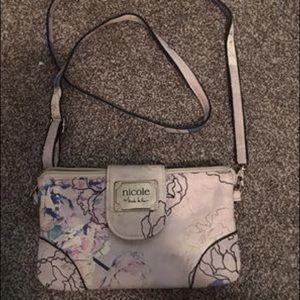 Crossbody floral purse